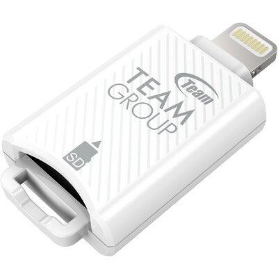 Четец за карти Team MoStash Reader WG04 Apple OTG White