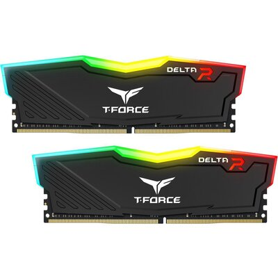 RAM Team T-FORCE DELTA RGB 16GB (2 x 8GB) DDR4-2666 Black