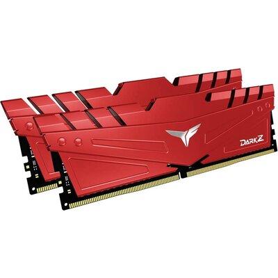 RAM Team Group T-FORCE DARK Z 16GB (8GBx2) DDR4-2666 Red
