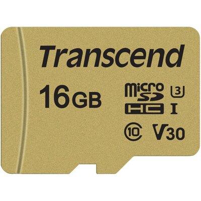 Transcend microSDHC 500S 16 GB UHS-I U3 V30