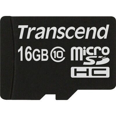Transcend microSDHC Premium 16 GB Class 10