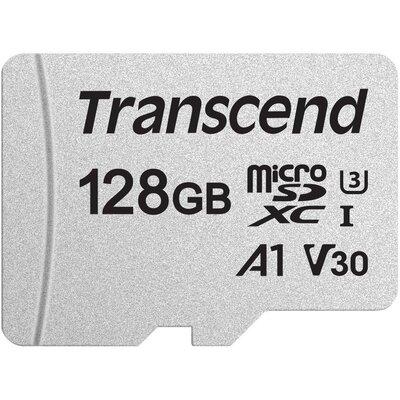 microSDXC карта Transcend 300S 128GB U3, V30, A1