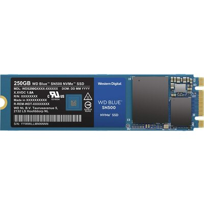 SSD WD Blue SN500 250GB NVMe
