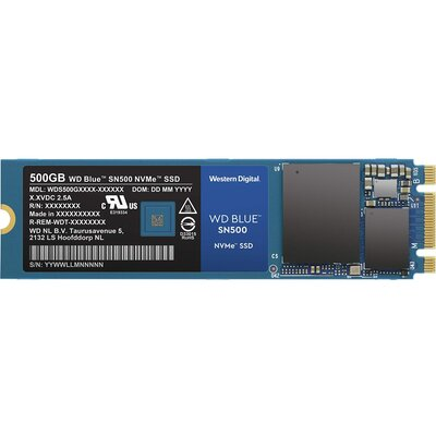 SSD WD Blue SN500 500GB NVMe