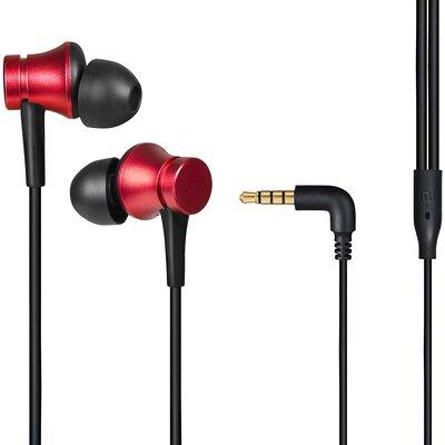 Слушалки тапи с микрофон Xiaomi Mi Earphones Basic, Red