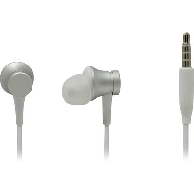Слушалки тапи с микрофон Xiaomi Mi In-ear Headphones Basic, Silver