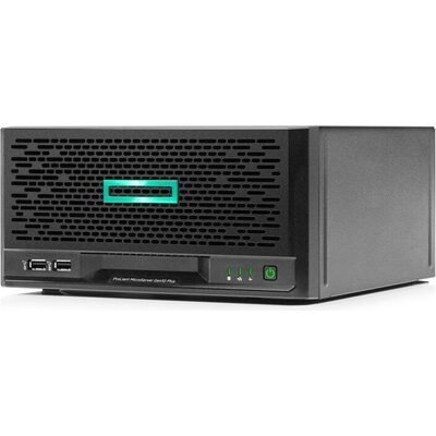 Сървър HPE ProLiant MicroServer Gen10 Plus, E-2224, S100i, 4LFF-NHP, 180W External PS