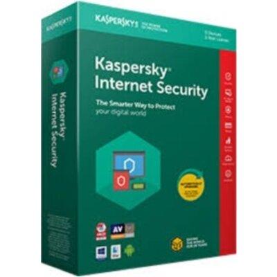Програмен продукт с лицензен стикер Kaspersky Internet Security 1-Device, 1 year Renewal,Box