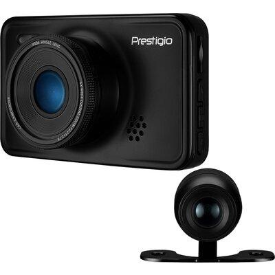 Car Video Recorder PRESTIGIO RoadRunner 527DL (Dual Camera: front - FHD 1920x1080@30fps, HD 1280x720@30fps, rear - VGA 640х480@3