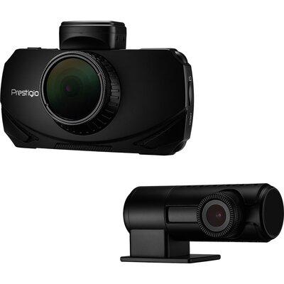 Car Video Recorder PRESTIGIO RoadRunner 600GPSDL (Front: WQHD 2560x1440@30fps; FHD 1920x1080@60fps Rear: FHD 1920x1080@30fps, 3.