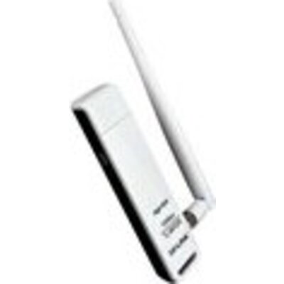 NIC TP-Link TL-WN722N, USB 2.0 Adapter, 2,4GHz High Gain Wireless N 150Mbps, Detachable Omni Directional Antenna 1 x 4dBi (RP-SM