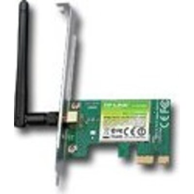 NIC TP-Link TL-WN781ND,  PCI Express Adapter, 2,4GHz Wireless N 150Mbps, Detachable Omni Directional Antenna 1 x 2dBi (RP-SMA)