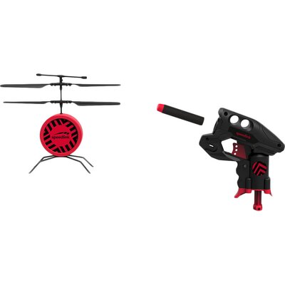 Speedlink DRONE SHOOTER Game Set,Helicopter drone with shooter gun,Twin rotor,Flight time:max.5 mins,Battery:Li-polymer,3.7V,75m