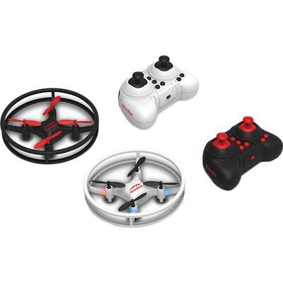 Speedlink RACING DRONES Competition Set,2xremote control mini quadrocopters,Rotors: 4,4D flight control,Flight time: max. 5 mins