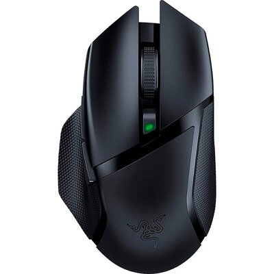 Razer Basilisk X HyperSpeed, Wireless technology, 5G Optical Sensor, 16,000 DPI, Dual-mode wireless (2.4GHz and BLE, Razer Mecha