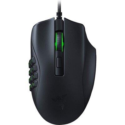 Razer Naga X, Gaming Mouse, True 18,000 dpi Razer 5G optical sensor with 99.4% resolution accuracy, 2nd-gen Razer™ Optical Mouse