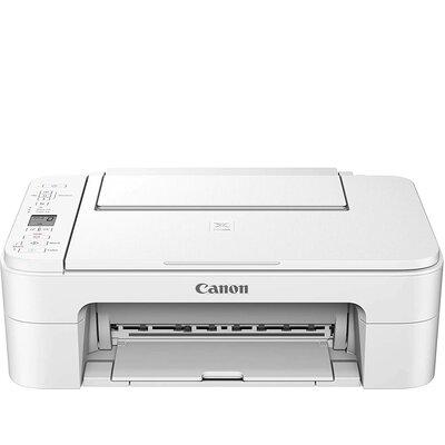 Мастилоструйно многофункционално устройство Canon PIXMA TS3351 All-In-One, White
