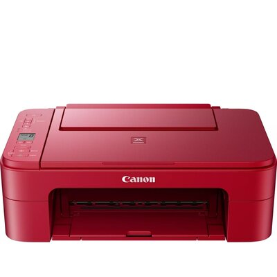 Мастилоструйно многофункционално устройство Canon PIXMA TS3352 All-In-One, Red