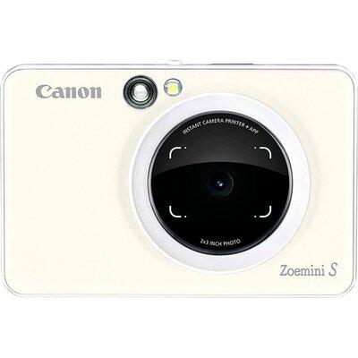 Цифров фотоапарат Canon Zoemini S, Pearl White