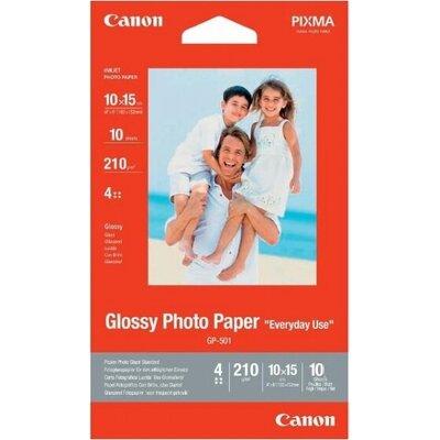 Хартия Canon GP-501 10x15 cm, 10 Sheets