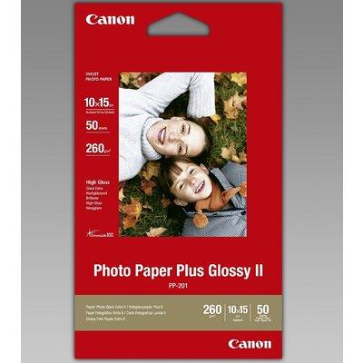 Хартия Canon Plus Glossy II PP-201, 10x15 cm, 50 sheets