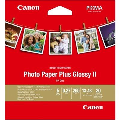 Хартия Canon Plus Glossy II PP-201, 5x5