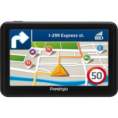"Prestigio GeoVision 5060, 5"" (480*272) TN display, WinCE 6.0, 800MHz Mstar MSB2531 Cortex A7, 128MB DDR, 4GB Flash, 600mAh"