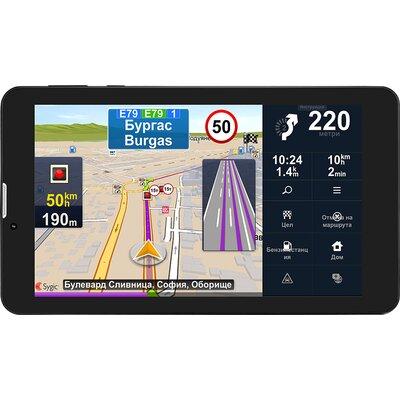 Prestigio GeoVision Truck, 7.0 IPS 1280x720 Android 7.0 CPU Cortex A7 DC 1.3 GHz 1 GB RAM 16 GB internal 0.3+2.0MP FM 3G WiFi BT