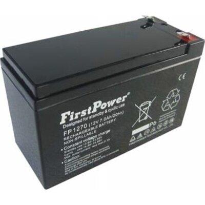 Батерия FirstPower FP7-12 - 12V 7Ah F1