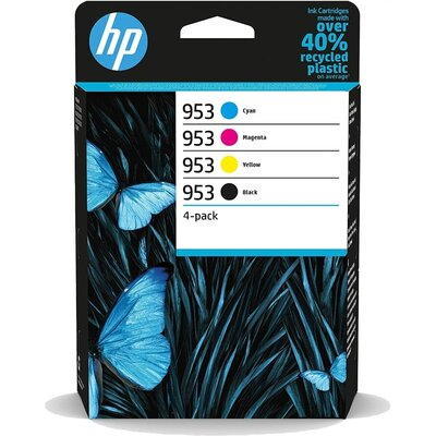 Консуматив HP 953 CMYK Original Ink Cartridge 4-Pack