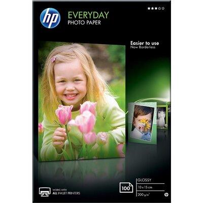 Хартия HP Everyday Glossy Photo Paper-100 sht/10 x 15 cm