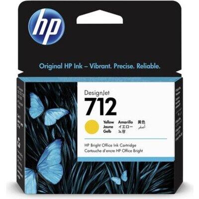 Консуматив HP 712 29-ml Yellow Ink Cartridge