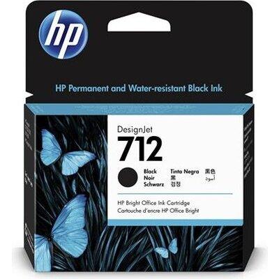 Консуматив HP 712 38-ml Black Ink Cartridge