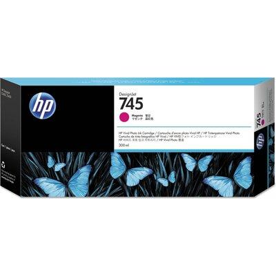 Консуматив HP 745 300-ml Magenta Ink Cartridge