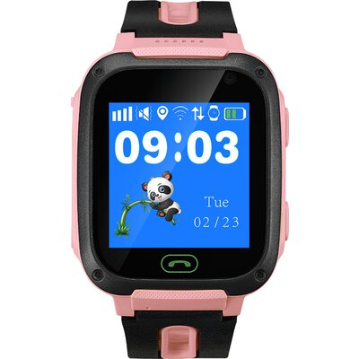 Kids smartwatch, 1.44 inch colorful screen, front camera,   SOS button, single SIM, 32+32MB, GSM(850/900/1800/1900MHz), 400mAh,