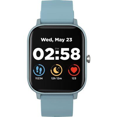 Smart watch, 1.3inches TFT full touch screen, Zinc plastic body, IP67 waterproof, multi-sport mode, compatibility with iOS and a