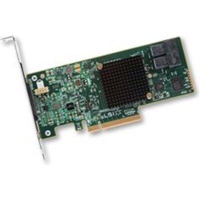 LSI MegaRAID SAS 9341-8i SGL, 12Gb/s, SAS/SATA 8-port int., RAID 0/1/10/5/50, (LSI00407) (Original by Broadcom)