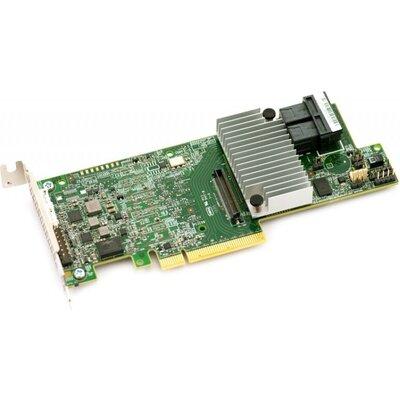 LSI MegaRaid SAS 9361-8i RAID Controller, 8-Port Int., 12Gb/s SATA+SAS, PCIe 3.0, 2GB DDRIII (LSI00462)