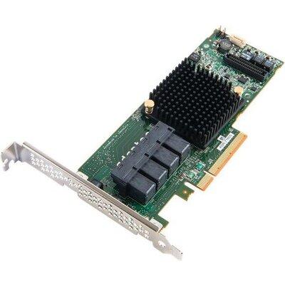 RAID Controller ADAPTEC 2274400-R, Internal ASR-71605 16ch 1Gb up to 256 devices (PCI Express 3.0 x8, SAS/SATA III, RAID levels: