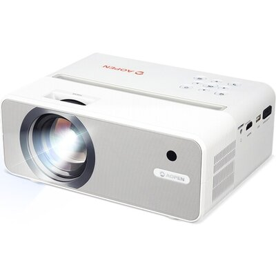 Мултимедиен проектор AOPEN Projector QH11 Mobile (powered by Acer), LCD, HD (1280 x720), 1 000:1, 5000 LED Lm, White LED lamp, H