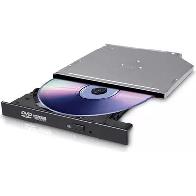 Оптично устройство Hitachi-LG GTC2N Slim Internal 12.7mm DVD-RW, Super Multi, Double Layer, M-Disk Support, Black