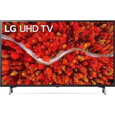 Телевизор LG 43UP80003LA, 43'' 4K IPS UltraHD TV 3840 x 2160, DVB-T2/C/S2, webOS Smart TV, ThinQ AI, Quad Core 4K, WiFi 802.11ac