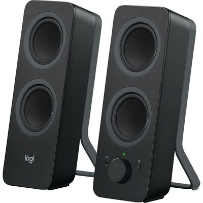 Тонколони Logitech Z207 Bluetooth Computer Speakers - Black