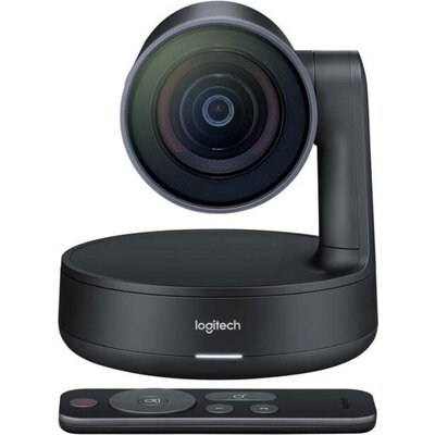 Уебкамера Logitech Rally Camera, Ultra HD 4K 30 fps, Motorized PTZ Camera, RightSight, RightLight, RightSound, 5x Optical Zoom,