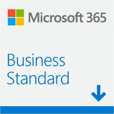 Програмен продукт Microsoft 365 Bus Std Retail English Euro Zone Sub 1YR Mdls P6