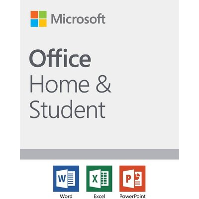 Програмен продукт Microsoft Office Home and Student 2019 English EuroZone Medialess P6