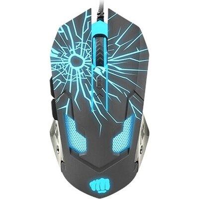 Мишка Fury Gaming mouse, Gladiator, optical 3200DPI, Illuminated black