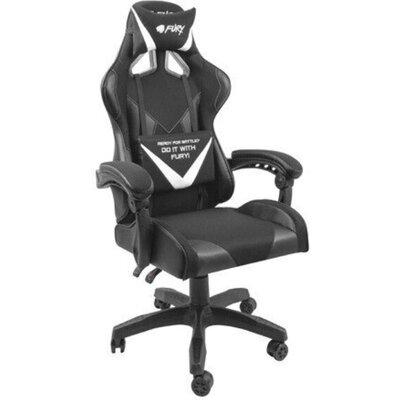 Стол Fury Gaming Chair Avenger L Black-White