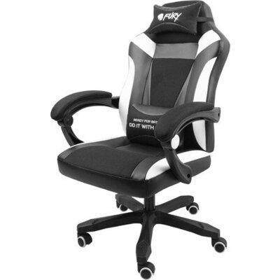 Стол Fury Gaming Chair Avenger M+ Black-White