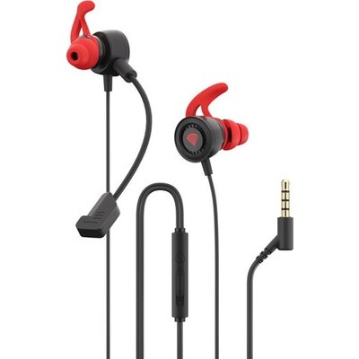 Слушалки Genesis Earphones Oxygen 200 With Microphone Stereo Black